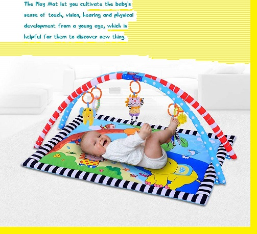 Baby safety mat play elephant