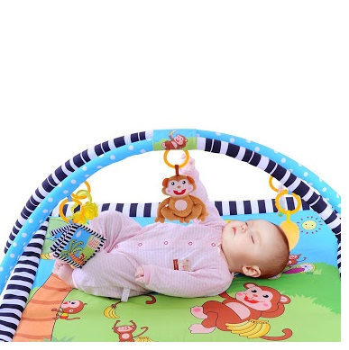 Baby safety mat monkey play mat