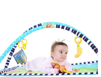 Baby safety play mat