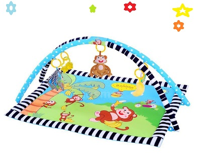Monkey baby safety play mats