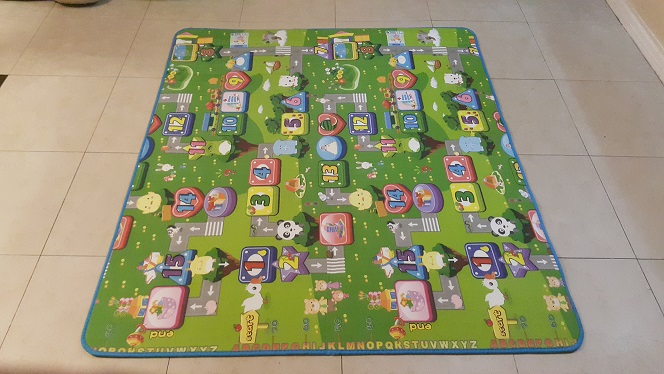 Picture 3 Animals Road Numbers Safety Mats