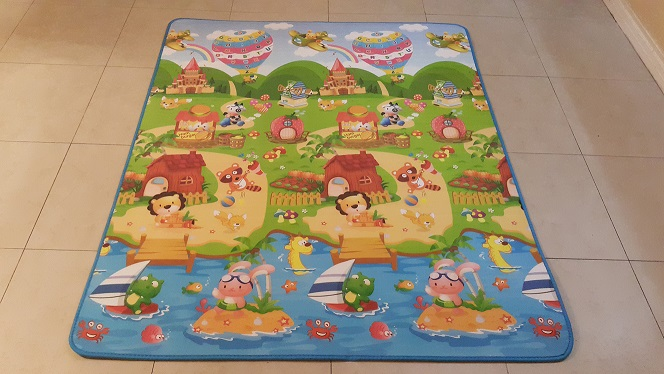 Picture 4 Air Balloon Animals Having Fun Safety Mats